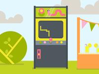 Outdoor Arcade
