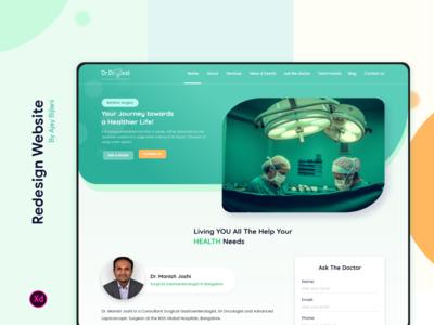 Dr. Digest - Website Redesign