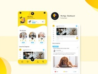 Pet App - Dashboard Concept