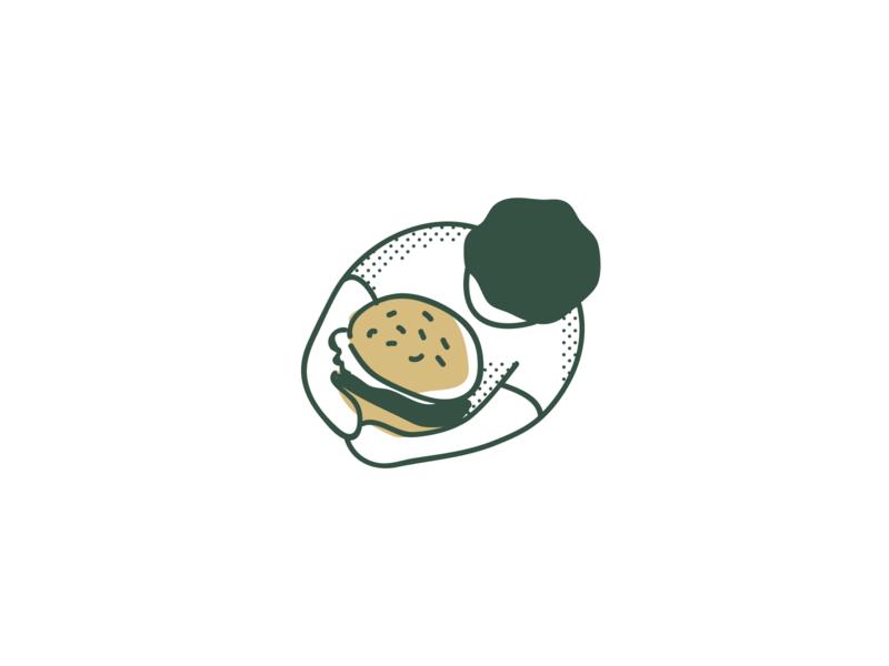 Burger packaging burger logo burger illustration burger packaging burger