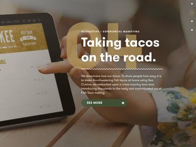 Nutmeg Interactive Site