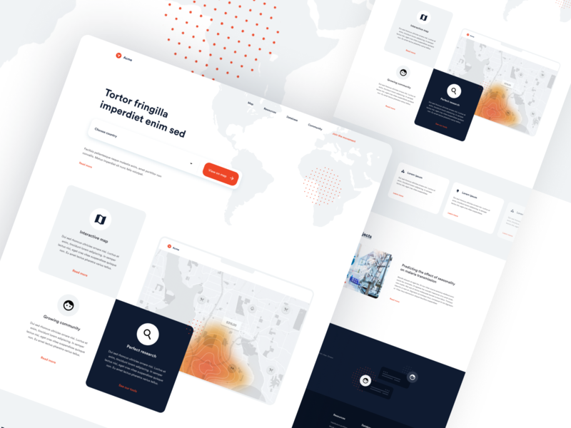 Vector Information Landing Page