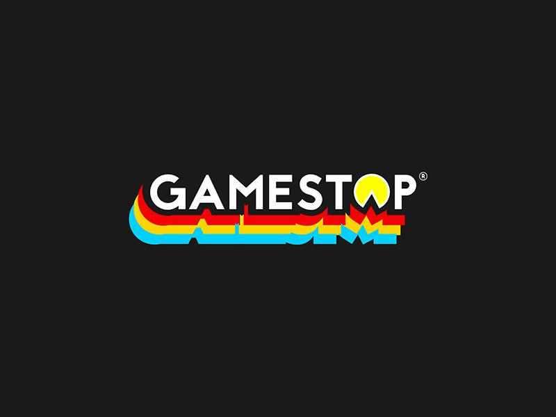 Gamestop Retro Logo By Justice Wright