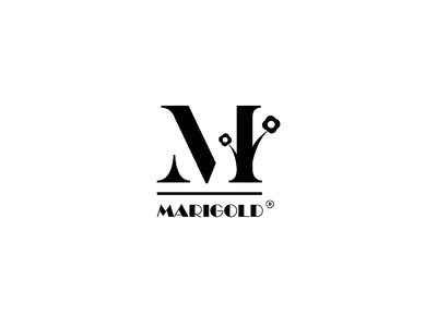 """Marigold"" Plant Nursery Logo"