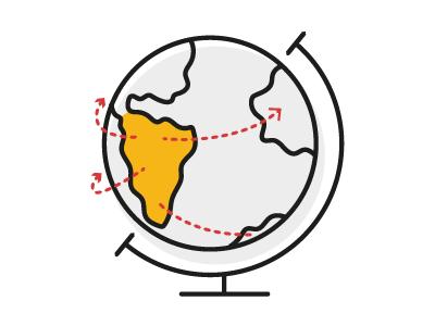 Iconography ❘ Latin America's Potential latam laboratoria latin south world icon