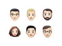 B&B Emoji – Amsterdam Set