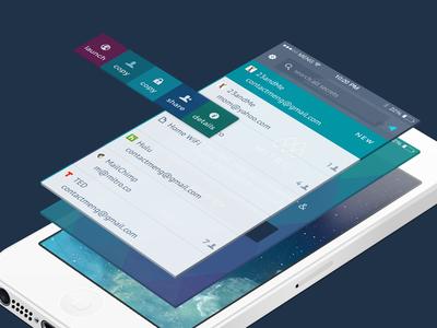 Mitro Mobile App Sneak Peek ios mobile app ux ui swipe interaction