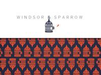 Windsor & Sparrow Identity Design