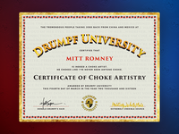 Drumpf University Certification