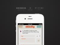 Shindig design 11a