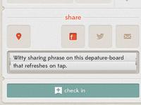 Shindig iOS App Drink Check In