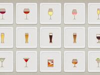 Shindig App Drink Icons
