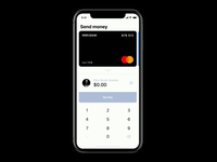 Apple Payments concept — Send money  | animation