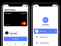 Apple Payments concept — Send money