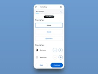 HomeAway - Onboarding flow for mobile web