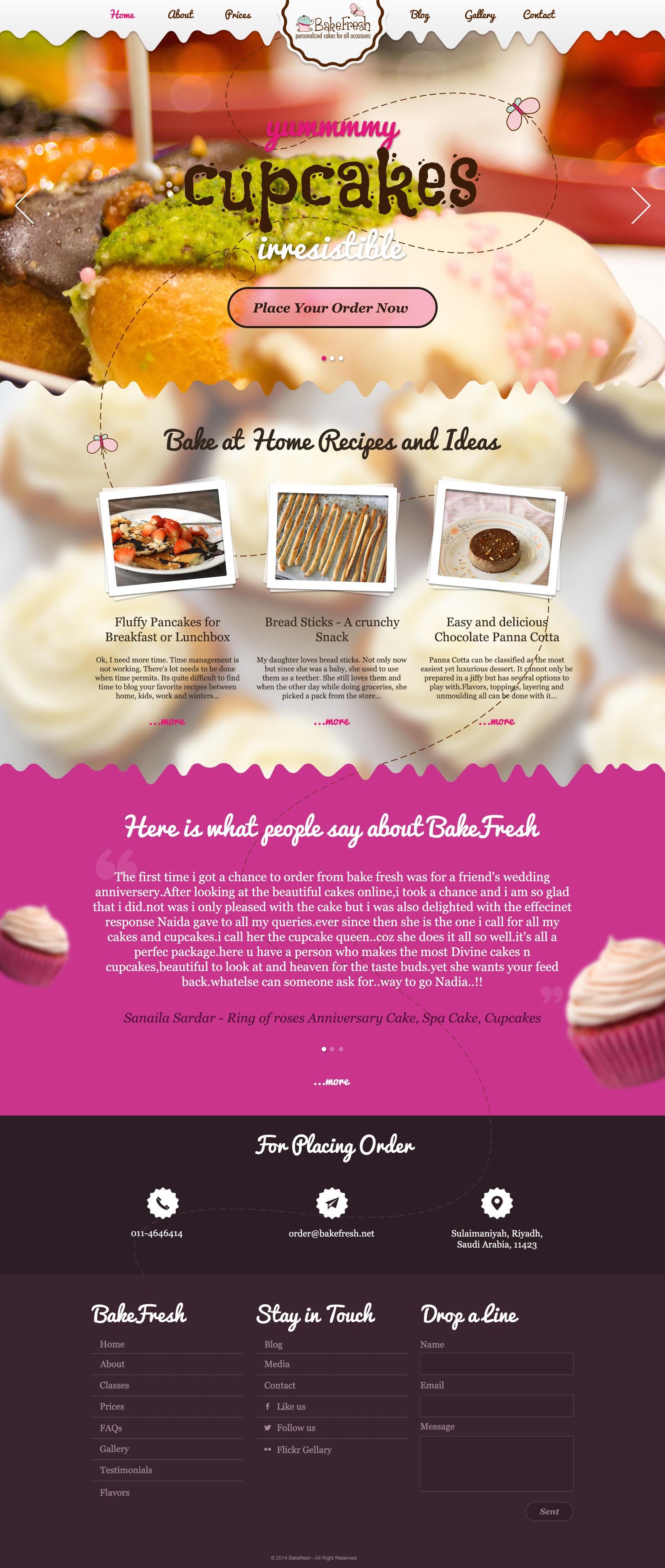 Backfresh website v1