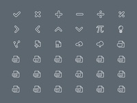 Line Icon Set Part 7