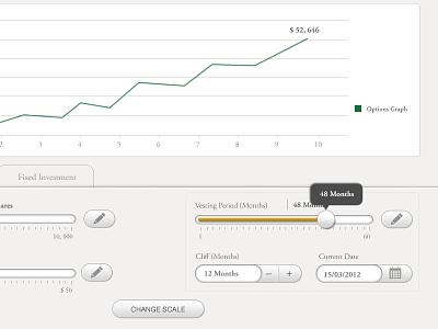 iPhone App Design ui ux icon custom control graph app simple app smooth style ipad app edit ios calculator tool tip ipad graph