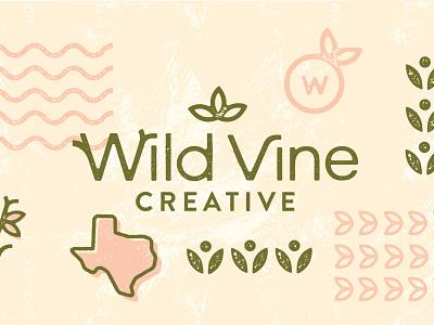 Wild Vine Creative personal brand personal project freelance illustrator logo design nature design nature brands freelance designer food brands brand redesign branding