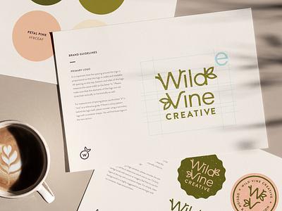 Brand Guidelines illustration branding personal project food brands personal brand nature brands logo design freelance illustrator freelance designer brand redesign