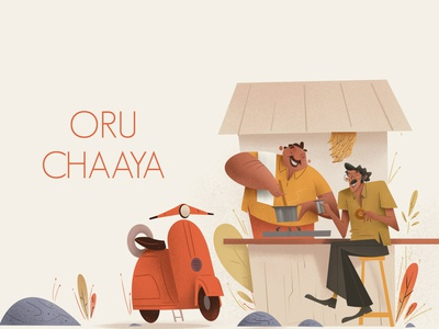 Cheta oru Chaaya branding photoshop digitalartist character artist illustration design art