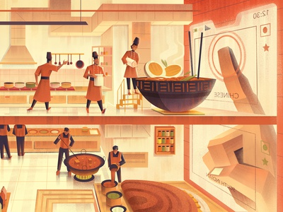Swiggy's story- Delicious food at the tap of a button. food swiggy branding photoshop digitalartist artist illustration design art