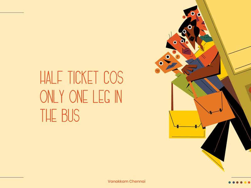 Footboard Commute branding freshworks madras chennai character drawing digitalartist artist illustration design art
