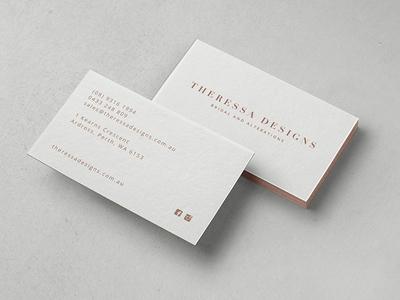 Theressa Designs re-branding
