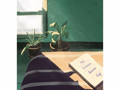 Sunday Room sunday light digital handmade illustration