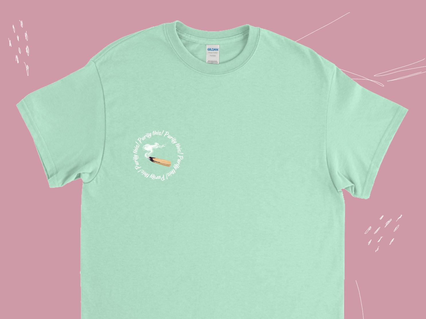 Palo Santo T-shirt smoke shop clothes cool illustration t-shirt graphic t-shirt design