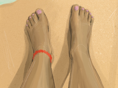 Feet on Water