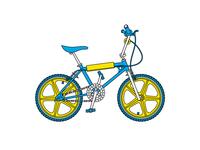 WIP Bike Illustration #2