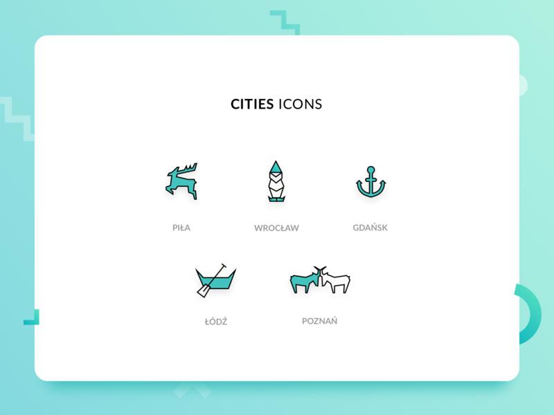 Cities Icons design vector cities icon stx next iconsset icons