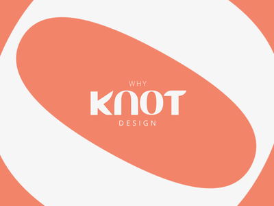 Why Knot Design logo inspiring unique classy bold flat simple