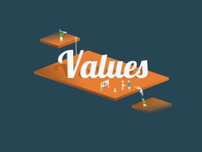 Values values sketch adobe-sketch apple-pencil ipad-pro platform floating