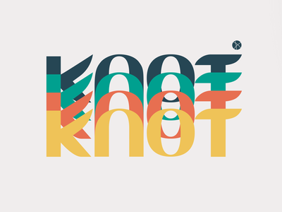 Knot Brand Play brand logo font
