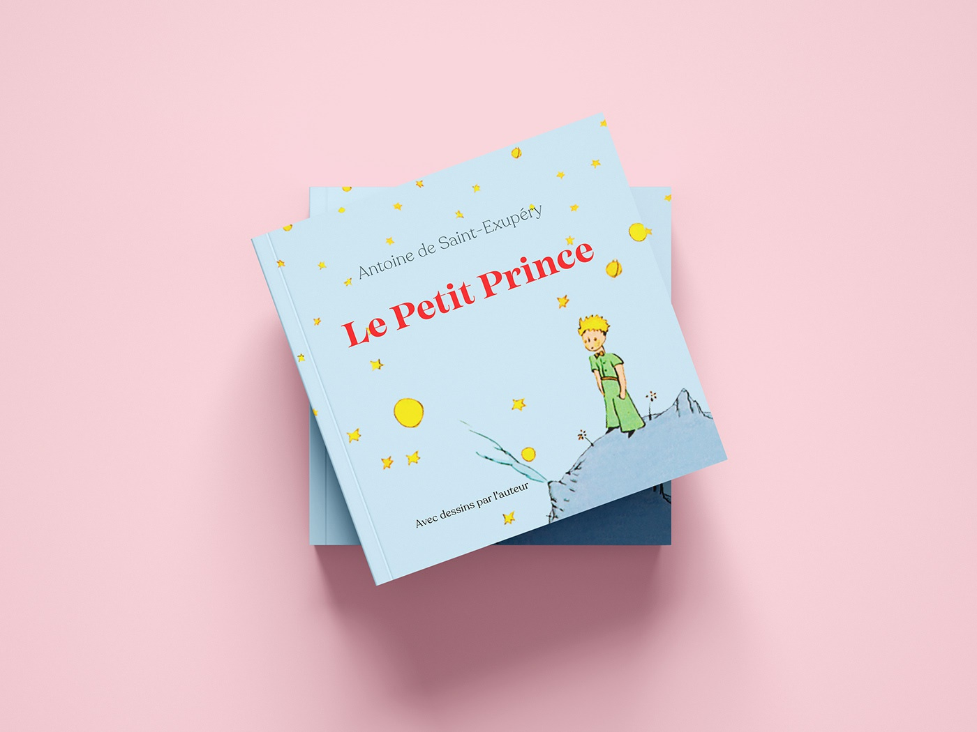 Design Du Petit Prince Livre By Kristina Vilyams On Dribbble