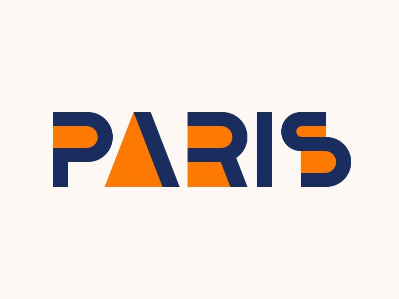 Paris cassandre geometric typehue logo font bifur typography