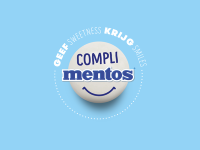 CompliMentos artdirection mentos keyvisual visual device campaign