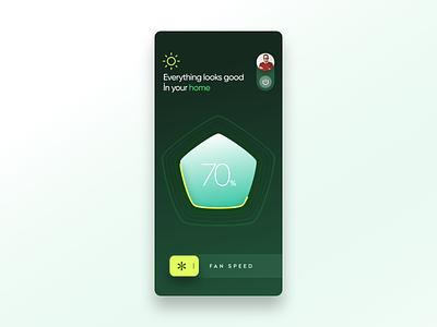 Smart App ui landing page web iphone app logo color