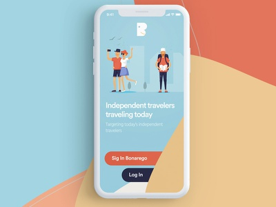 Travel App traveling time logo color x iphone app travel