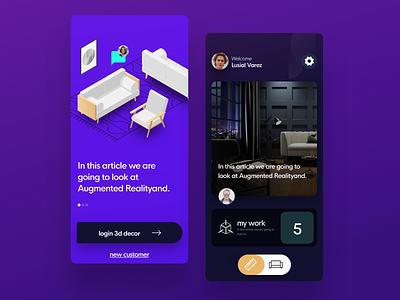 Render app design e-commerce dashboard responsive page web iphone app logo color
