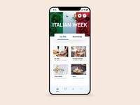 Supermarket App UI