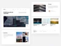 Construction Company Website 🏗