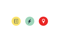 Icon Experiment for A Travel App