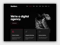 Gentium — A Creative Digital Agency Website