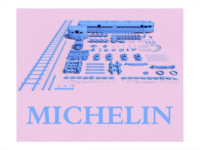 Michelin Rail Car