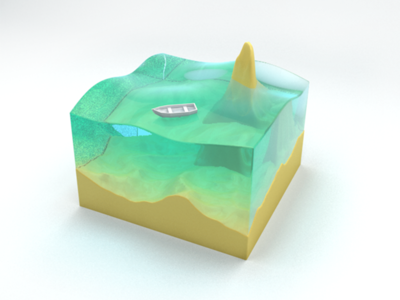 Small Scene   Simulated Waves