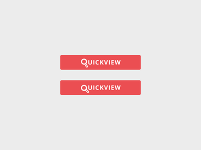 Quickview quickview quicklook ecommerce dumb magnifying glass button
