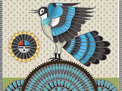 Jay nature bird qcassetti illustration illustrator adobe vector